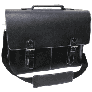 Amerileather Classic Leather Organizer Briefcase for $45
