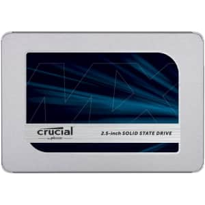 Crucial MX500 1TB SATA 6Gbps Internal SSD for $112