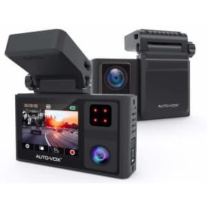 Auto-Vox 1080p Dual Dash Cam for $110