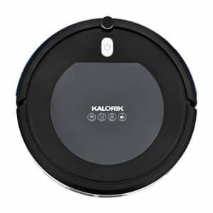 Kalorik Home Ionic Pure Air Robot Vacuum, Black and Gray for $95