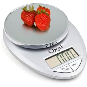 Ozeri Pro Digital Kitchen Food Scale for $12