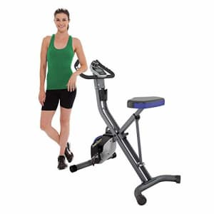 Fitness Reality U2500 Super Max Foldable Magnetic Upright Bike, 400 Lbs for $189