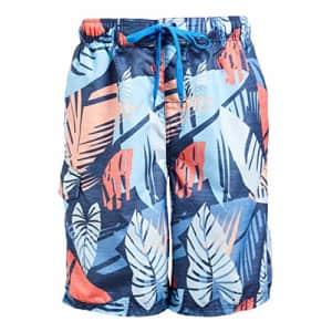 Kanu Surf Men's Legacy Swim Trunks (Regular & Extended Sizes), Montego Denim, Medium for $19
