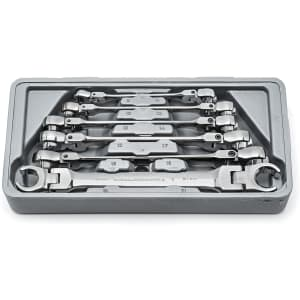 GearWrench 6-Piece Flex Flare Metric Wrench Set for $72