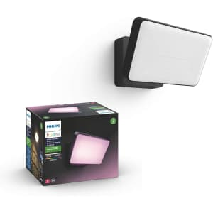 Philips Hue Discover Outdoor White & Color Ambiance Smart Floodlight for $160