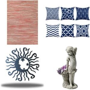 Wayfair Outdoor Decor: Discounts on over 30,000 items