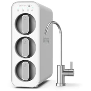 Waterdrop Undersink Dual Carbon Filtration System for $102