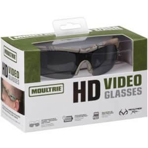 Moultrie 720p HD Video Camera Sunglasses for $30