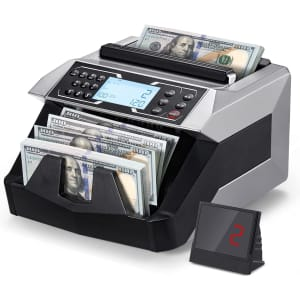 TTTK Rechargeable Bill Counting Machine for $120