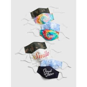 Gap Family Contour Mask w/ Filter Pocket 8-Pack for $4