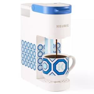 Keurig K-Mini Basic Jonathan Adler Ltd. Ed. Single-Serve K-Cup Pod Coffee Maker for $40
