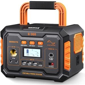 Vattix 296Wh Portable Power Station for $299