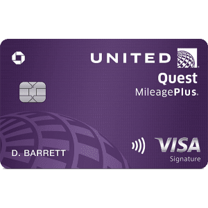 New United Quest℠ Card: Earn up to 100,000 bonus miles