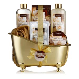 Lovery 13-Piece White Rose Jasmine Body Care Gift Set for $18