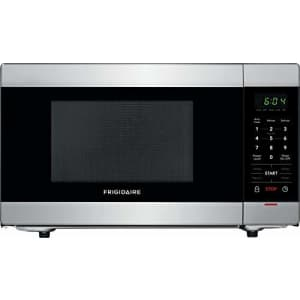 Frigidaire 1.1 cu. ft. Countertop Microwave in Stainless Steel for $94