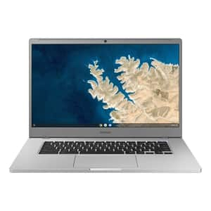 "Samsung Chromebook 4 Plus Celeron N4000 15.6"" Laptop for $217"