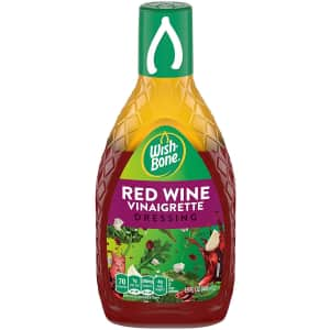 Wish-Bone Red Wine Vinaigrette Dressing for $1.34 via Sub. & Save