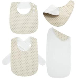 Myzidea Baby Bandana Bibs and Burp Cloth Set for $6