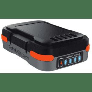 Black + Decker GoPak 12V Li-Ion Battery & USB Charger for $8