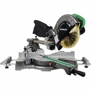 Metabo HPT Sliding Compound Miter Saw, 8-1/2-Inch Blade, Laser Marker, LED Light, 9.5 Amp Motor, for $340