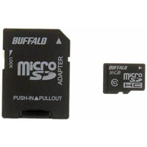 Buffalo Tools BUFFALO Class10 microSDHC card SD conversion adapter 16GB RMSD-16GC10AB for $53