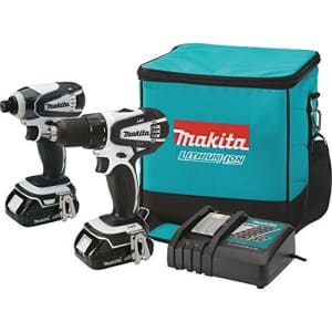 Makita CT200RW 18V Compact Lithium-Ion Cordless Combo Kit, 2-Piece (Discontinued by Manufacturer) for $274