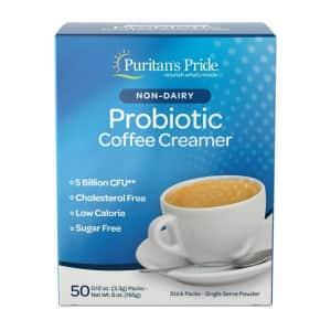 Puritan's Pride Non-Dairy Probiotic Coffee Creamer for $15