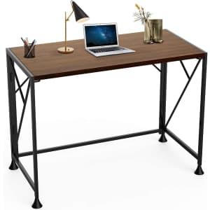 "Sinkcol 40"" Folding Computer Desk for $38"