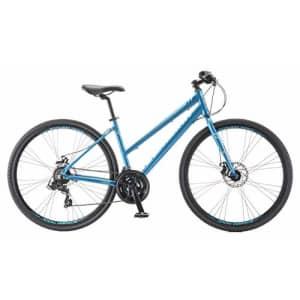 Schwinn Volare 1200 Adult Hybrid Road Bike, 28-inch wheel, aluminum frame, Blue for $470