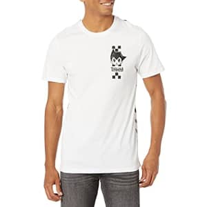 Southpole Men's Astroboy Screen Print T-Shirt, White Gel, Small for $11