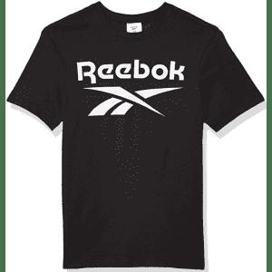 Reebok Men's Stacked Logo T-Shirt for $9