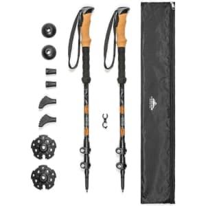 Cascade Mountain Tech Trekking Poles for $23
