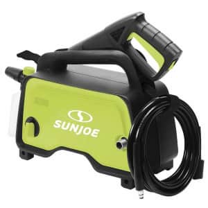 Sun Joe Hand-Carry Electric Pressure Washer with Adjustable Nozzle for $65