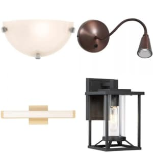 Wall Lights at Lumens: Up to 40% off