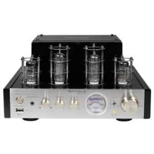 Rockville BluTube 70W Hybrid Tube Stereo Amplifier for $150