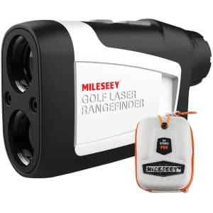 Mileseey 660-Yard Golf Range Finder for $72
