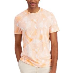 Alfani Men's Brushstroke T-Shirt for $14