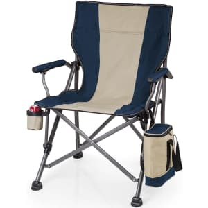 Picnic Time Outlander Camp Chair w/ Cooler for $66