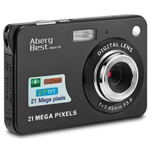 AbergBest 21MP Digital Camera for $29