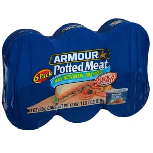 Armour Star Potted Meat 3-Oz. Can 6-Pack for $2.23 via Sub & Save