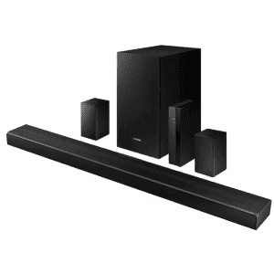 """Samsung 39"""" 7.1-Channel Home Theater Sound System w/ Wireless Subwoofer and Rear Speakers for $200"""