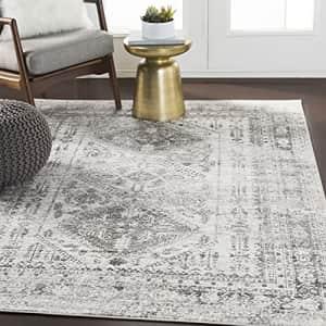 "Artistic Weavers Desta Area Rug, 5'3"" Square, Charcoal for $150"