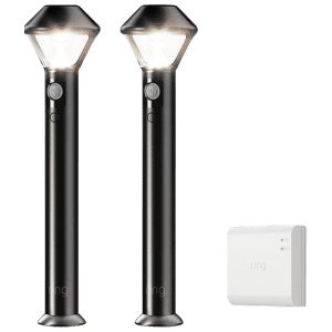 Ring LED Motion-Activated Outdoor Lights w/ Smart Bridge from $49
