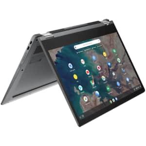 "Lenovo Chromebook Flex 5 Celeron 13.3"" 2-in-1 Laptop for $350"