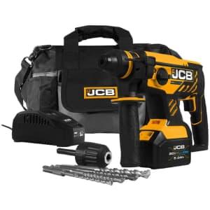 JCB 20V Brushless Impact Hammer w/ Battery & Charger for $128