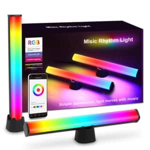 Bluetooth Smart LED Light Bar 2-Pack for $42