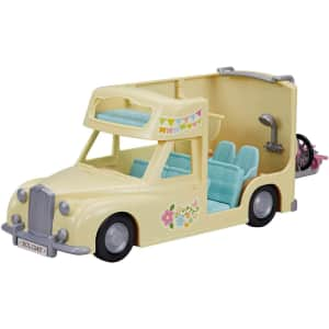 Calico Critters Family Campervan for $41