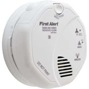 First Alert Smoke & Carbon Monoxide Alarm for $43