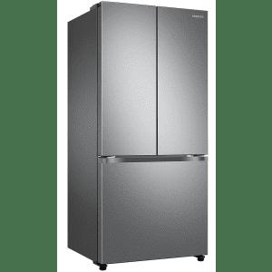 Samsung 18-Cu. Ft. Smart Counter Depth 3-Door French Door Refrigerator for $1,169