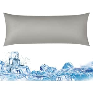 """Haowaner 20"""" x 54"""" Double Sided Cooling Body Pillow Case for $25"""
